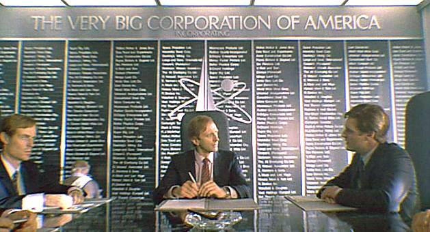 Monty Python - the very big corporation of America